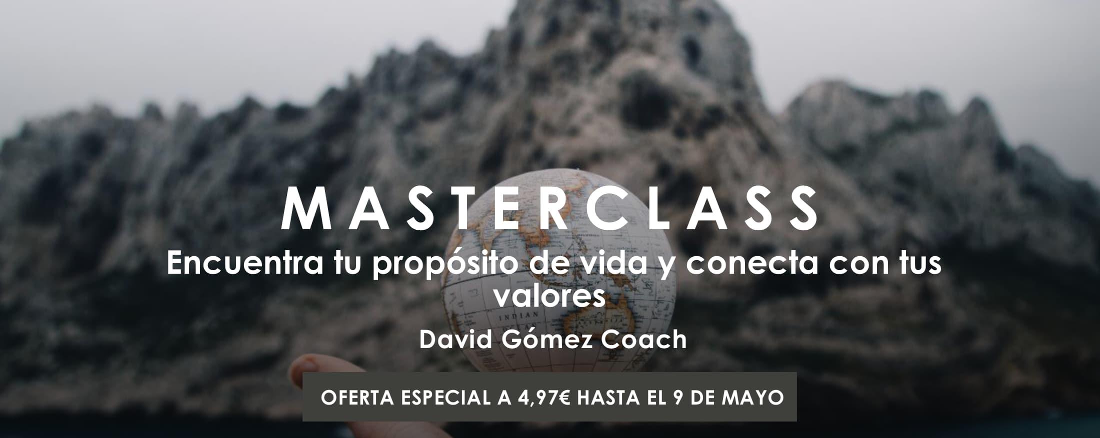 Masterclass Encuentra tu propósito y conecta con tus valores